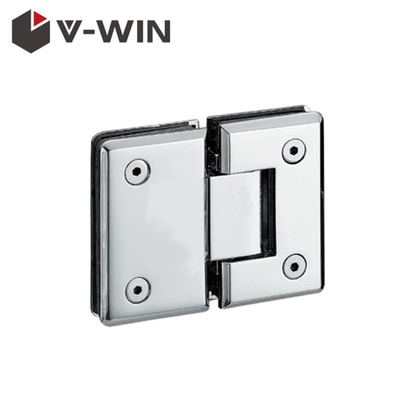180 degree zinc alloy heavy duty glass door hinge for frameless shower