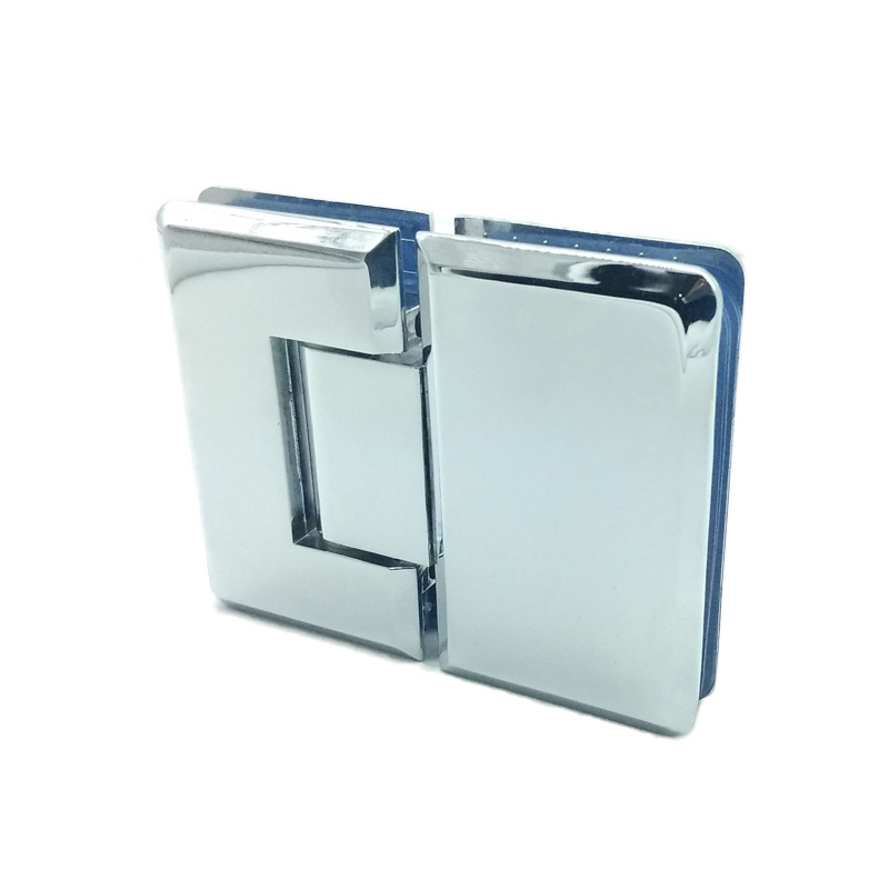 180 degree zinc alloy heavy duty glass door hinge for frameless shower