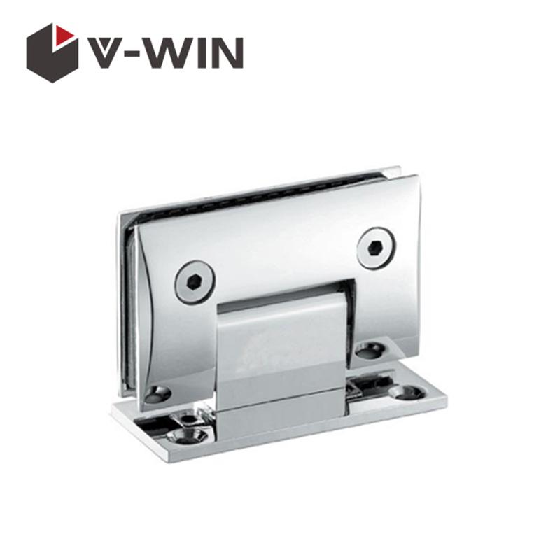 Hot Sell 90 Degree t Shape Glass Door Hinge VW-ZAGC-301