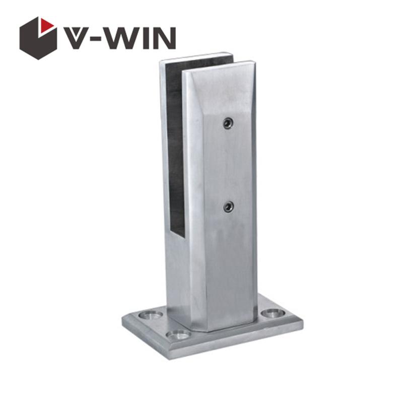 Stainless Steel Glass Spigot Frameless Glass Pool Fencing VW-GS-A08