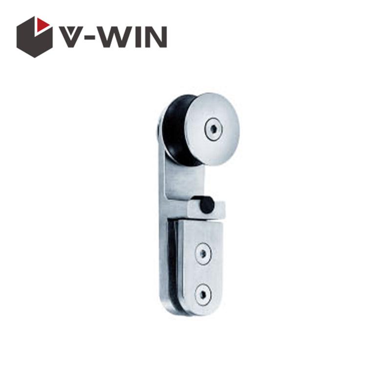 Frameless Glass Sliding Shower Door Stainless Steel Hardware Fittings VW-SDF-305