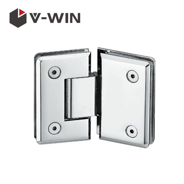 Glass door hinge for shower room