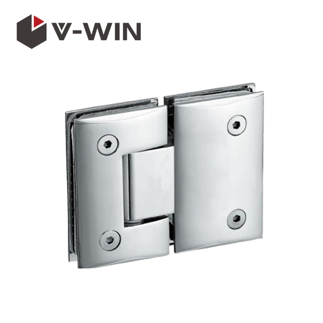 Curved shape top quality glass door pivot hinge