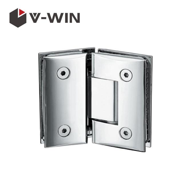 Shower door glass hinge 135 degree