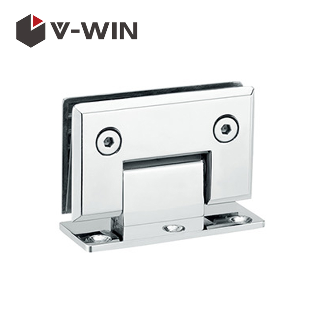 Wall Mount Full Back Plate Glass door hinge
